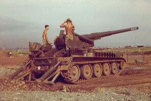 175mm Howitzer. Phuc Vinh,Vietnam 1970