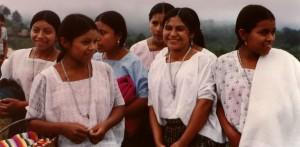 Lowland women. Guatemala 1995