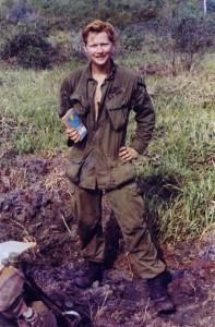 Roye Abbot, head medic. Tay Ninh, Vietnam 1970