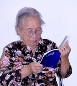 Bà Doãn Ngọc Trâm, the mother of Dang Thuy Tram.
