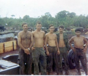 Last Crew-Left to Right, Mike Dunn, Dan Clark, Unk, Jim Brown, Herman Velazques (2)