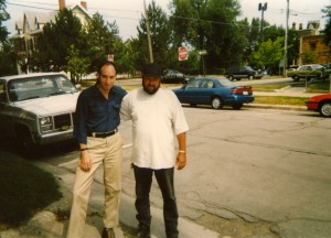 Mike and Medic, Monroe, Michigan, 1997