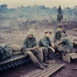 Second squad on LZ Ramada: Ken (KIA), Gamble, Bill, Hank, Buddha, Dorio. Phuc Vinh, Vietnam 1970