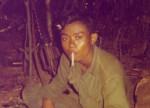 Diem Diem, aka Jim Dumb, Kit Karson Scout. Tay Ninh, Vietnam 1970