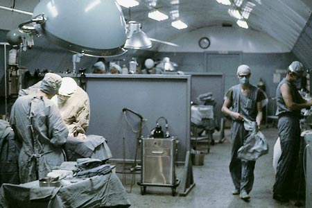 Operating room 24th Evac. Saigon 1971