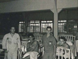 Patients on med/surg ward at 249th General Hospital. Camp Drake, Japan. 1970