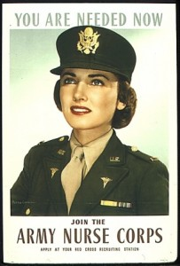 US Army recruiting poster. Circa 1943