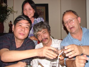 Bao-Ninh-his-wife-Robert-and-Fredrick-Whitehurst-Hanoi-Vietnam-2006.-See