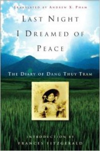 BOOK COVER LAST NIGHT I DREAMED OF PEACE