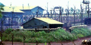 US POW camp outside Bien Hoa. 1968
