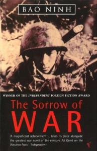 BOOK COVER THE SORROW OF WAR