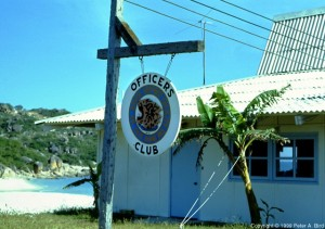 Cam Rahn Bay Officers Club 1968
