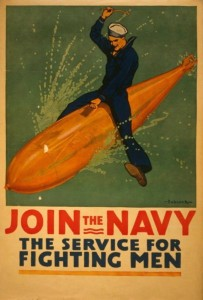 NAVY RECRUITING POSTER WWI